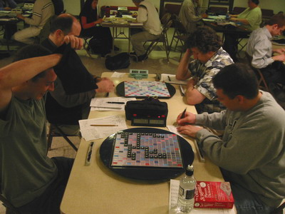 Seattle SCRABBLE Club in Session